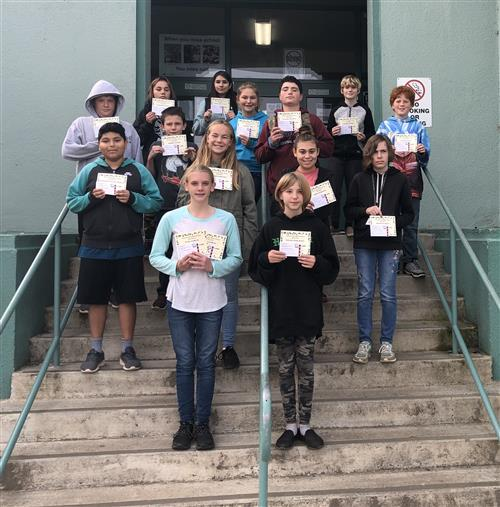October Star Students